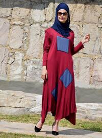 Maroon - Dress