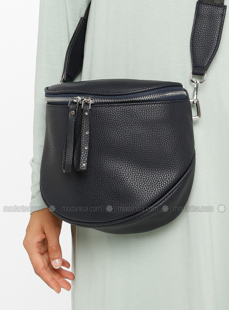 Navy Blue - Satchel - Bum Bag