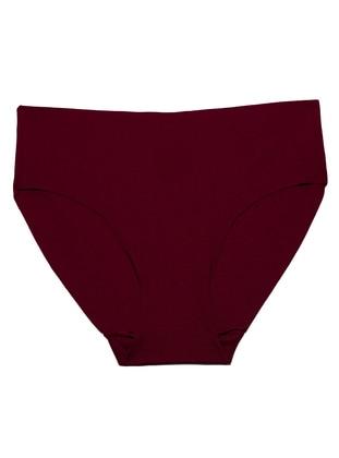 Maroon - Panties