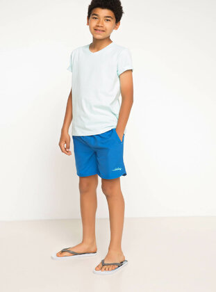 Blue - Boys` Swimsuit - DeFacto
