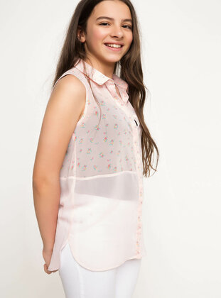 Ecru - Girls` Tunic