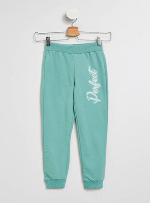 Turquoise - Girls` Pants