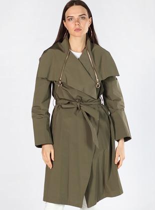 Khaki - Fully Lined - Trench Coat