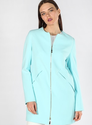 Mint - Fully Lined - Crew neck - Topcoat