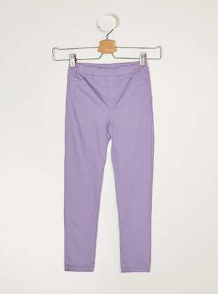 Purple - Girls` Pants