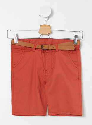 Orange - Girls` Shorts