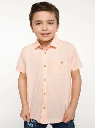 Orange - Girls` Shirt