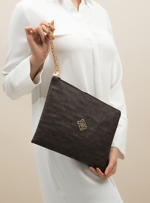 Brown - Clutch Bags / Handbags