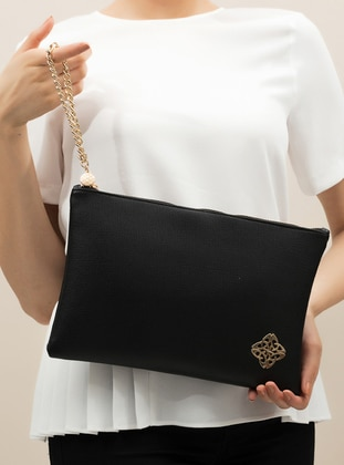 Black - Clutch Bags / Handbags - Voel