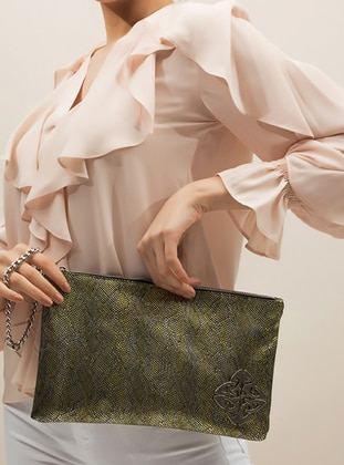 Green - Clutch Bags / Handbags
