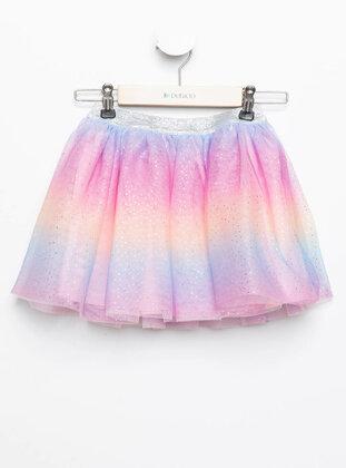 Turquoise - Girls` Skirt - DeFacto