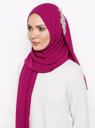 Pink - Purple - Plum - Plain - Shawl