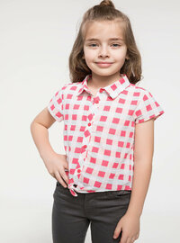 Red - Girls` Shirt