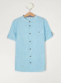 Turquoise - Girls` Shirt