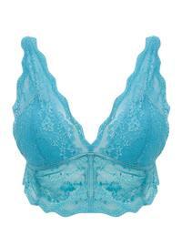 Blue - Turquoise - Bra