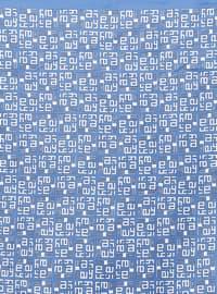 Navy Blue - Printed - Scarf