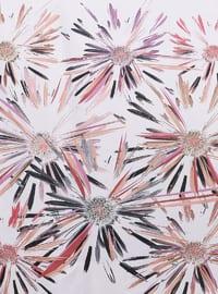 Pink - Printed - Scarf