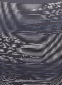 Black - Printed - Scarf