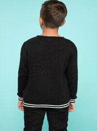 Black - Girls` Pullovers