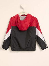 Red - Girls` Raincoat