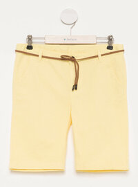 Yellow - Girls` Shorts