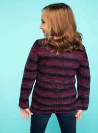 Maroon - Girls` Pullovers