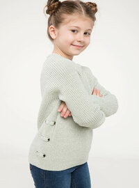Turquoise - Girls` Pullovers