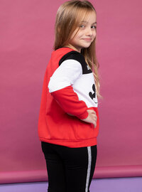 Red - Girls` Sweatshirt