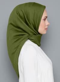 Green - Plain - Scarf