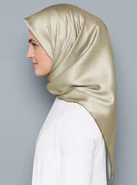 Gold - Plain - Scarf