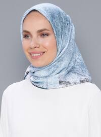 Blue - Plain - Scarf