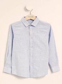 Blue - Girls` Shirt
