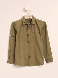 Khaki - Girls` Shirt