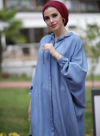 Blue - Cotton - Tunic