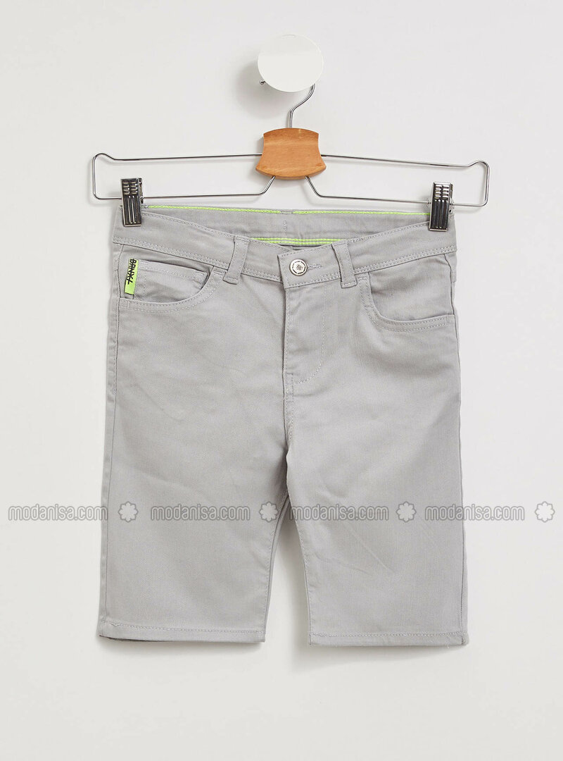 Silver tone - Girls` Shorts