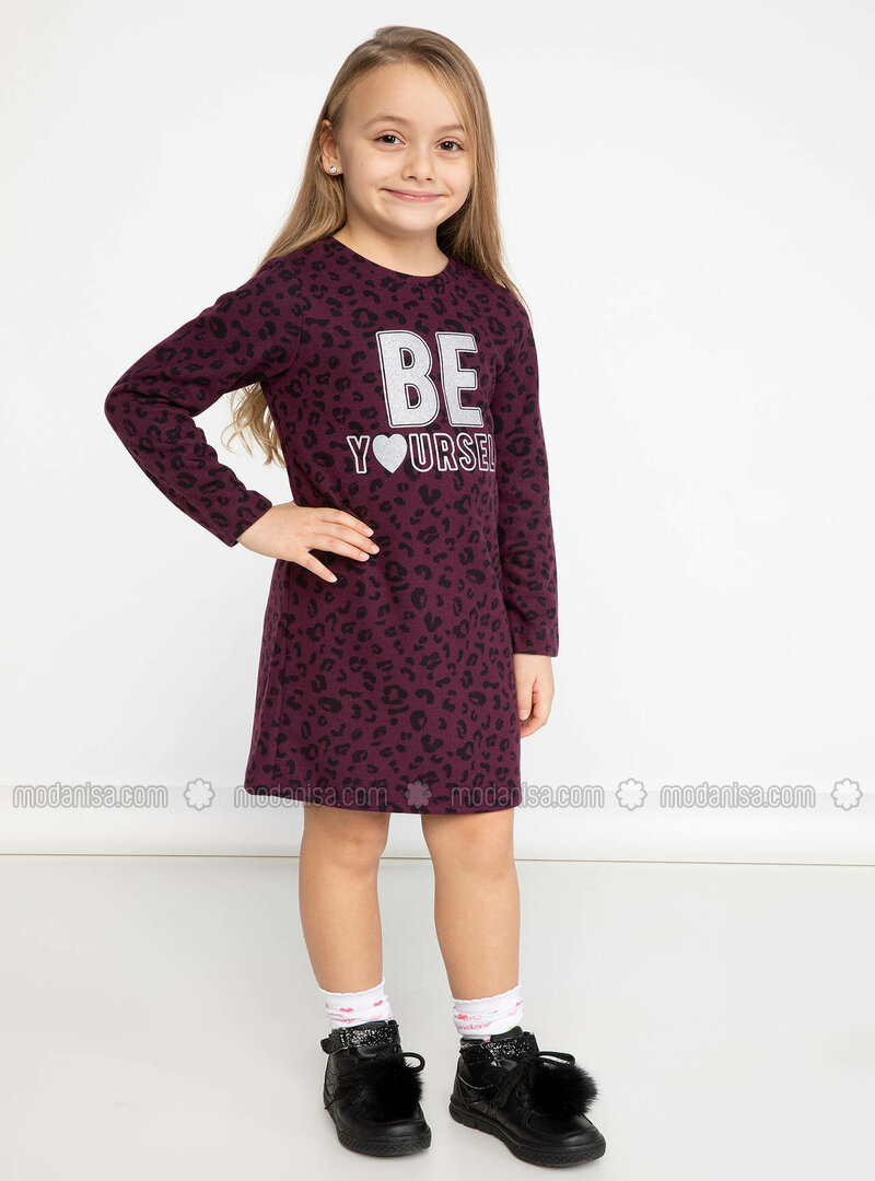 Purple - Girls` Dress