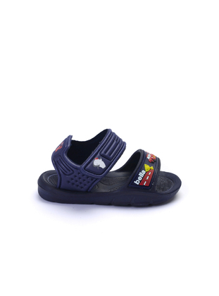 Navy Blue - Girls` Slippers - Esem