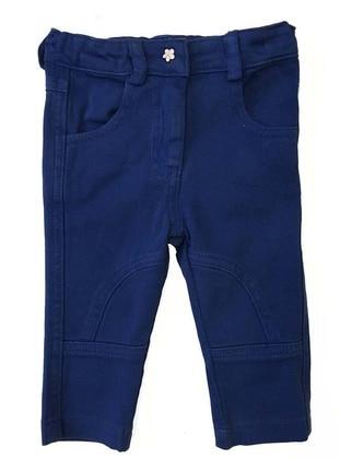 Cotton - Saxe - Girls` Pants