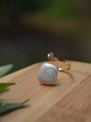 Beige - Ring - Artbutika
