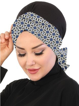 Saxe - Lace up - Cotton - Bonnet