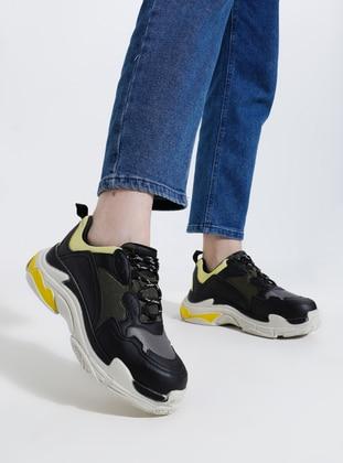 Black - Khaki - Sport - Sports Shoes