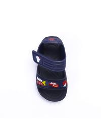 Navy Blue - Girls` Slippers