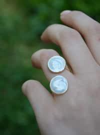 Beige - Ring