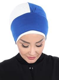 Saxe - Cream - Plain - Cotton - Chiffon - Bonnet