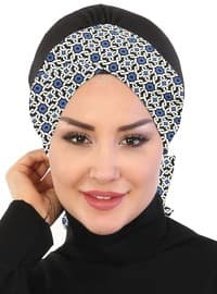 Saxe - Lace up - Cotton - Bonnet