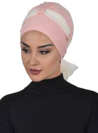 Powder - Cream - Plain - Cotton - Chiffon - Bonnet
