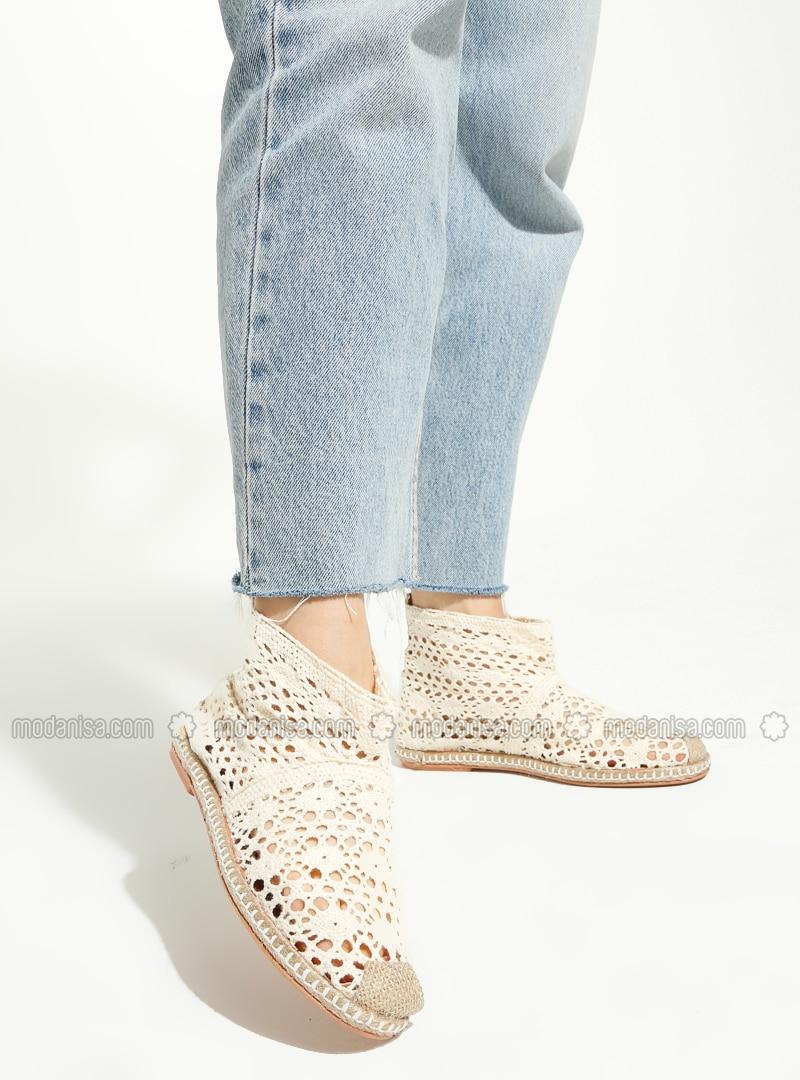 Cream - Boot - Boots