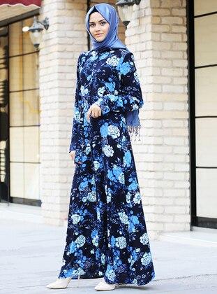 8f6f55536eaf9 Saks Tesettür Elbise Modelleri ve Fiyatları - Modanisa.com