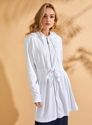 White - Cotton - Tunic - Muni Muni