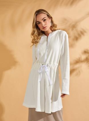 Ecru - Cotton - Tunic
